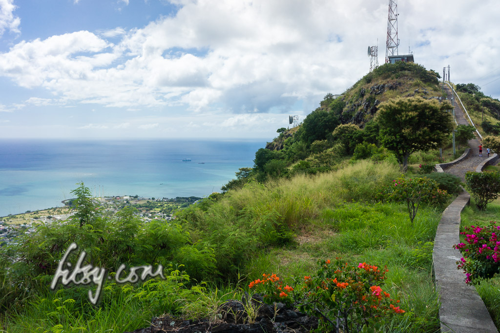 Summit of Signal Mountain, Port Louis, Mauritius